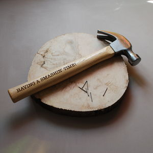 Personalised Hammer - garden tools