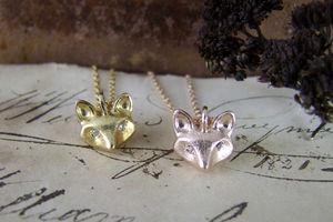 Foxy Pendant - necklaces & pendants