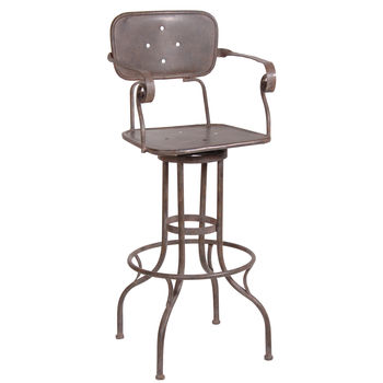 Tall Factorary Stool