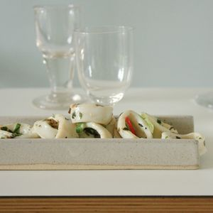 Tom butcher ceramics products for Canape serving dishes