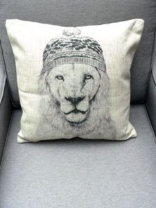 Animal Print Cushion - cushions