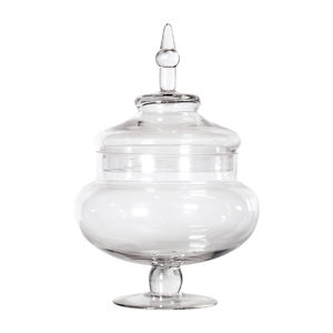 Glass Bonbon Jars - tins, jars & bottles