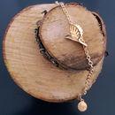 18k Gold Plated Sterling Silver Carved Bird Bracelet
