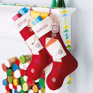 Letter To Santa Stocking - stockings & sacks