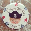 Personalised Pirate Badge