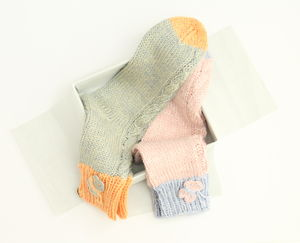 Hand Knitted Socks Gift Boxed
