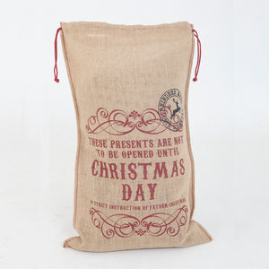 Sacks Christmas Day Sack - view all decorations