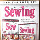 Learn To Sew Dvd And Book Box Set