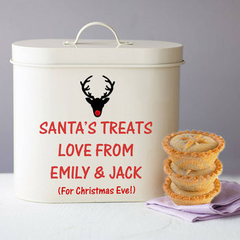 Personalised Christmas Storage Tin