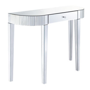 Bevel Edged Mirrored Console Table - side tables