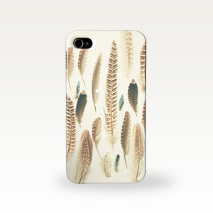 Found Feathers Photographic Phone Case - bags & purses