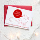 Christmas Vegetarian Dinosaur Card Packs