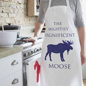 Moose Design Apron
