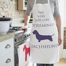Dachshund Determined Apron