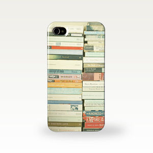 Bookworm Photographic Phone Case - tech accessories for her