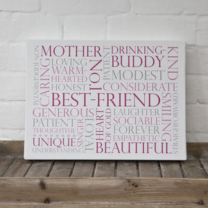 Personalised Memories & Favourites Print