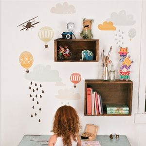 Up Up And Away Wall Stickers - living room