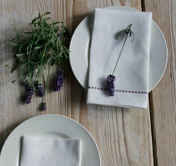 Linen Embroidered Napkin
