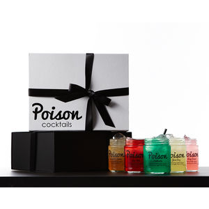 Six Cocktails Gift Box - drinks connoisseur