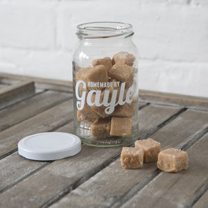 Personalised Sweet And Treat Storage Jar - chocolates & confectionery