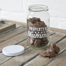 Personalised Retro Property Gift Treat Jars