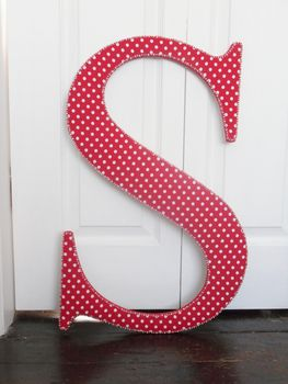 Decorative Beaded Letter