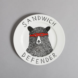 The 'Sandwich Defender' Side Plate