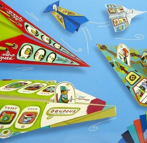 Origami Plane Set For Boys And Girls