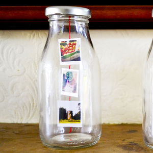 Personalised Photo Milk Bottle - decorative accessories