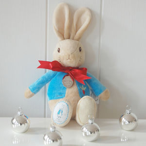 My First Christmas Peter Rabbit - cuddly toys