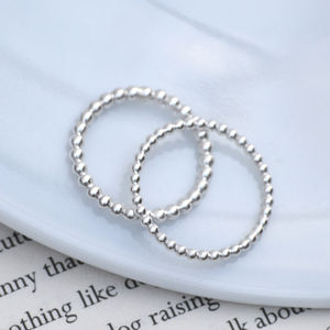 Stacking Ring In Sterling Silver - rings