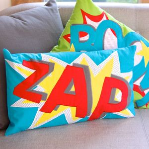 Comic Cushion - gifts for geeks