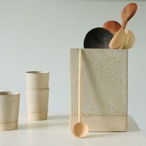 Square Utensil Jar - storage & organising