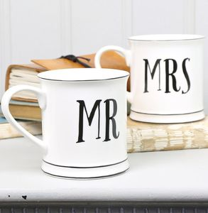 'Mr And Mrs' Mugs - view all sale items