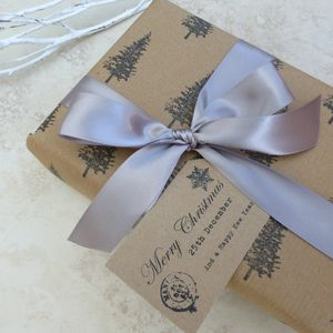 Rustic Merry Christmas Gift Tags - cards & wrap
