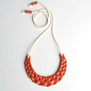 Handmade Crescent Necklace A