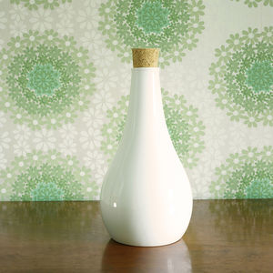 Fine Bone China Decanter With Cork Stopper - tableware