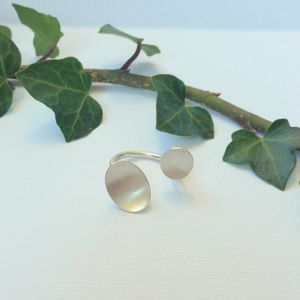 Sterling Silver Double Petal Ring 'Mix And Match'
