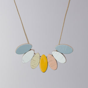 Cornflower Necklace - statement necklaces