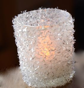 Sparkle Votive Holder - christmas home