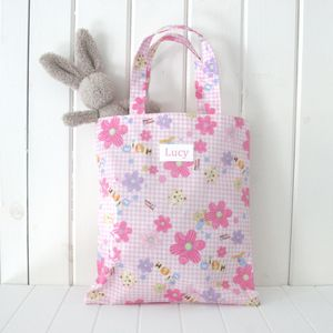 Personalised Oilcloth Child's Mini Shopper