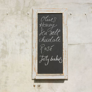Cafe Chalkboard - kitchen accessories
