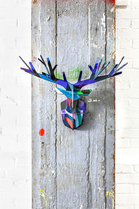Totem Enchanted Deer - festive wall art