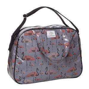 Flamingo Party Overnight Bag - women's accessories