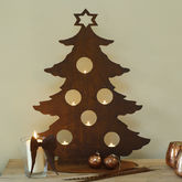 Large 3D Metal Christmas Tree - christmas decorations
