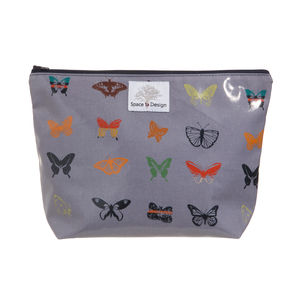 Midnight Butterfly Large Toiletry Bag