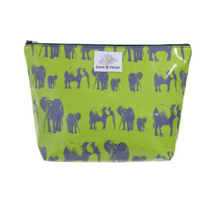 Elephant Family Large Toiletry Bag - bags & purses