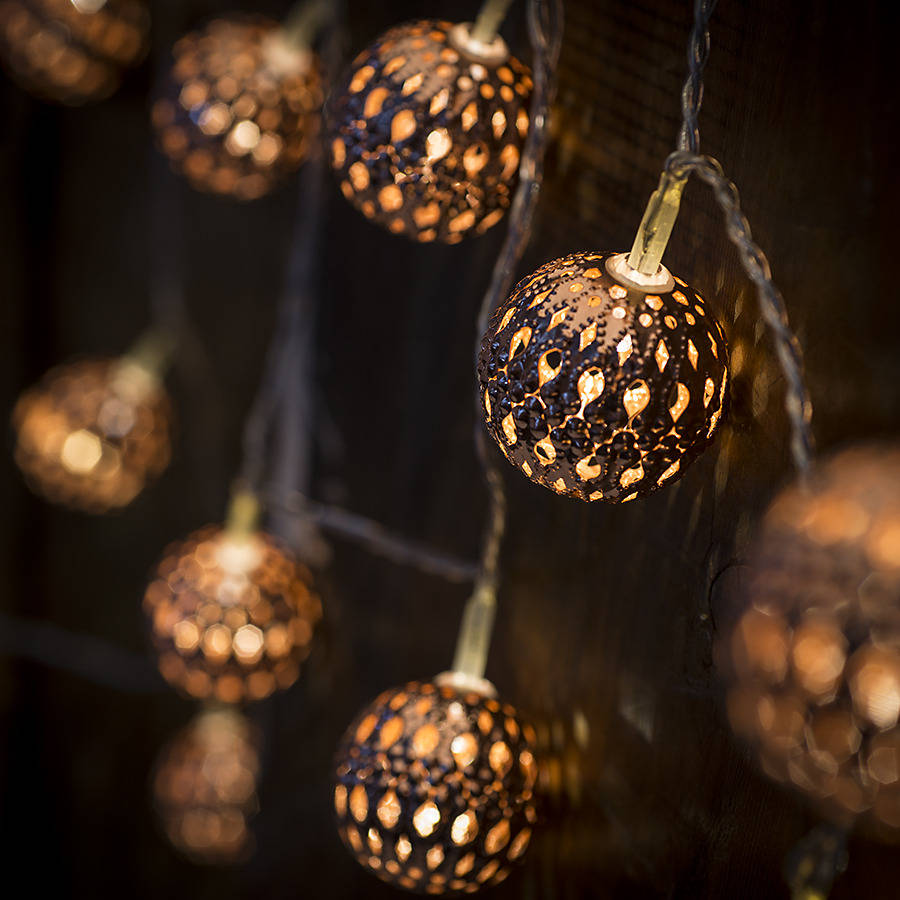 copper galore led light chain by spotted ...