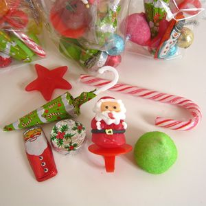 Christmas Party Sweetie Bag - christmas food & drink