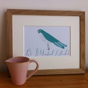 Little Bird. Limited Edition Screen Print - posters & prints